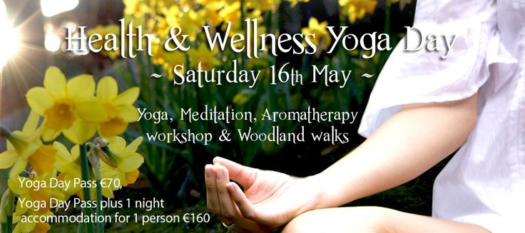 Our health and wellness day 16th May get booking! #Tinakilly #TinakillyHealthAndWellness