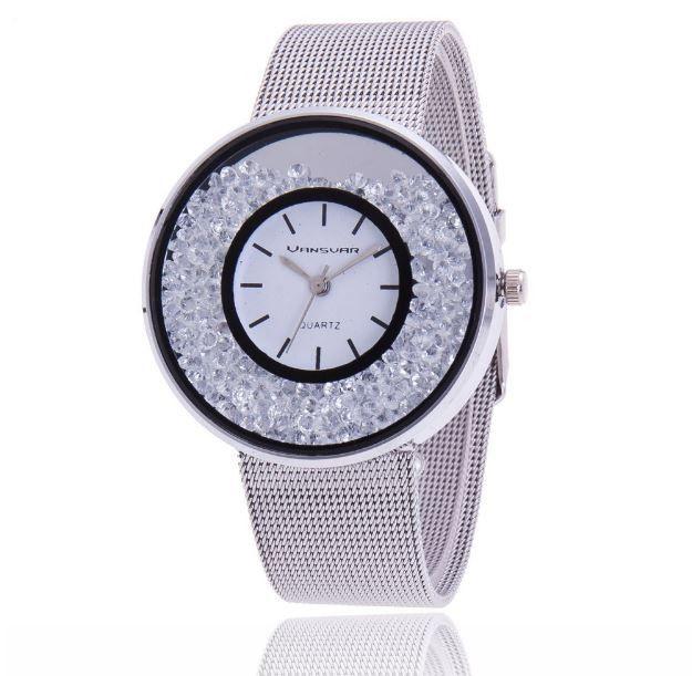 Luxusní dámské hodinky se zirkony uvnitř – ve stříbrné barvě- SLEVA 50 % + POŠTOVNÉ ZDARMA Na tento produkt se vztahuje nejen zajímavá sleva, ale také poštovné zdarma! Využij této výhodné nabídky a ušetři na …