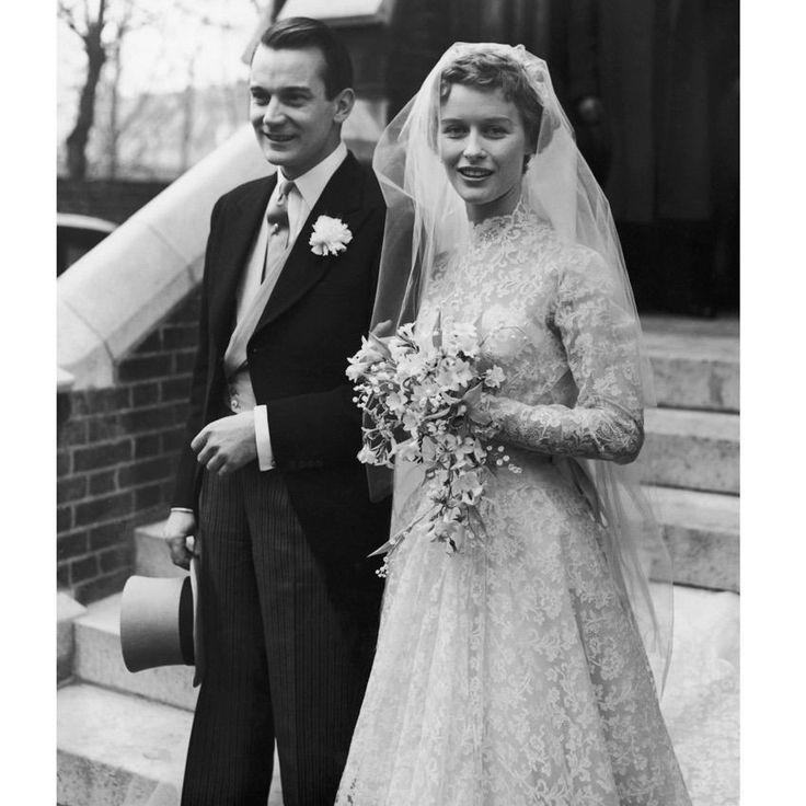 Denholm Elliott and Virginia McKenna. 1954