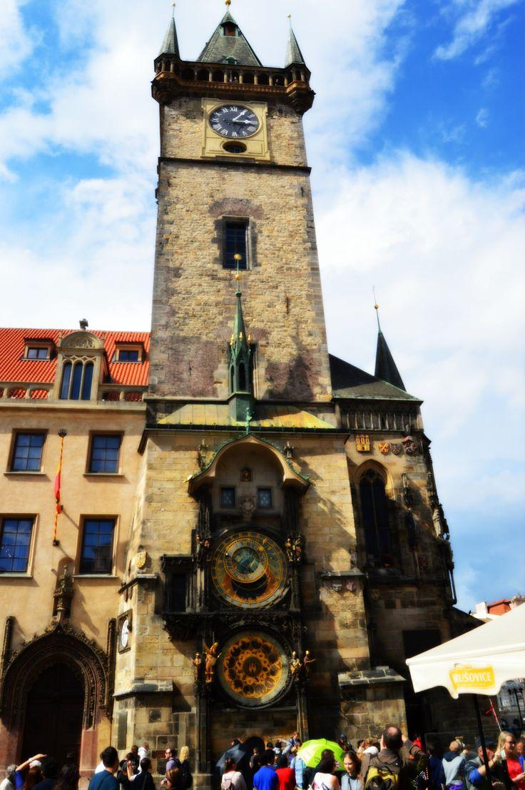 Pražský orloj - astronomical clock