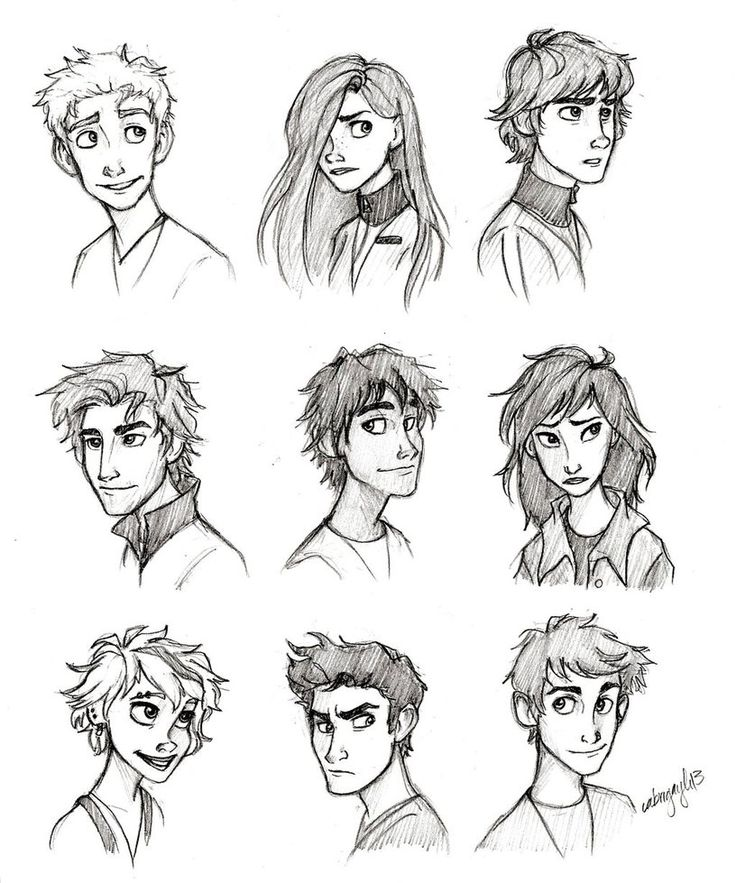 I know this isn't Harry Potter but I could definatly play with these sketches to make some awesome second gen