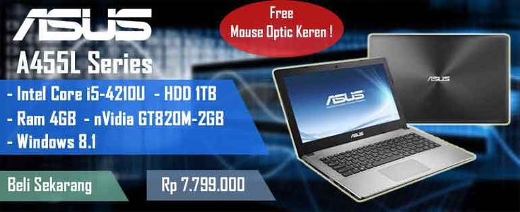 Now Available Multimedia Laptop ASUS A455L Series --> http://ow.ly/Fw0fY