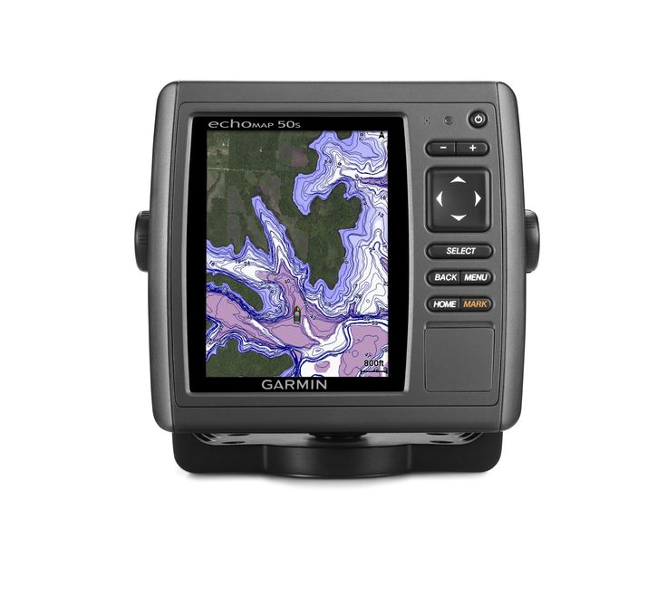 Garmin echoMAP 50s GPS with Trasom Motor Mount Transducer and Worldwide Basemap (Discontinued by Manufacturer)