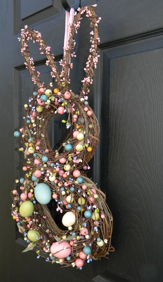 Easter Wreath - Bunny Wreath - Will ship first week in March