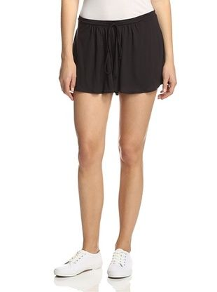 76% OFF Bella Luxx Women's Palazzo Shorts (Black)