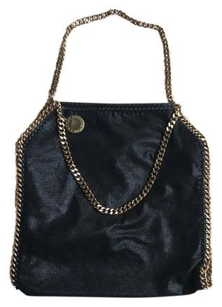 Stella McCartney Falabella Shaggy Deer Tote Black / Gold Chain Clutch on Sale, 23% Off | Clutches on Sale