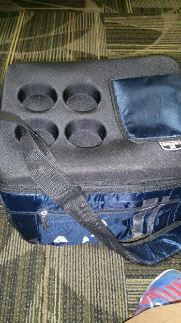The cooler.  Never leave home without it.