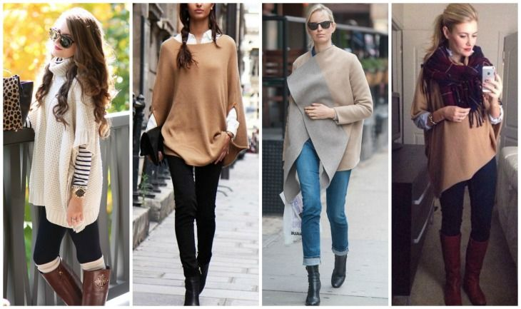 Ponchos and wraps are an easy way to update your fall and winter basics. Throw one on as the top layer over your favorite jeans and top and you'll instantly look put-together and on trend. They lo...