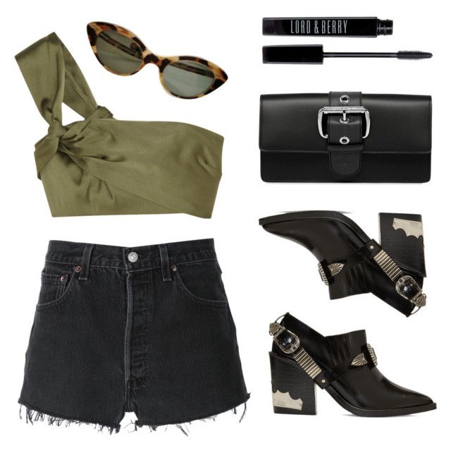 """""""Olive"""" by baludna ❤ liked on Polyvore featuring 3.1 Phillip Lim, RE/DONE, Toga, Vivienne Westwood and Lord & Berry"""