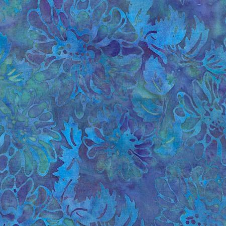 Island Batik Rayon - Tahitian Bloom