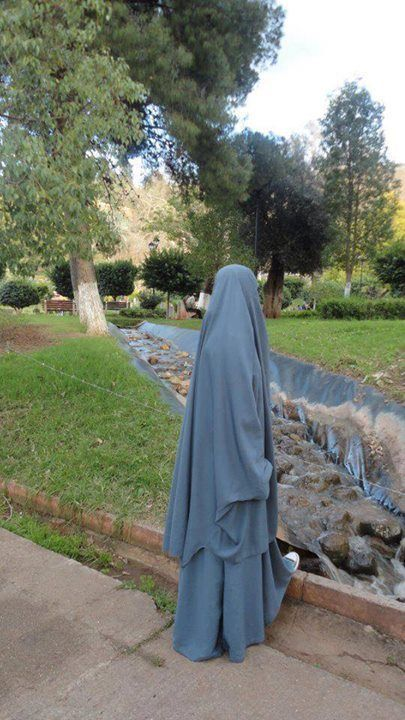 Jilbab in the Park