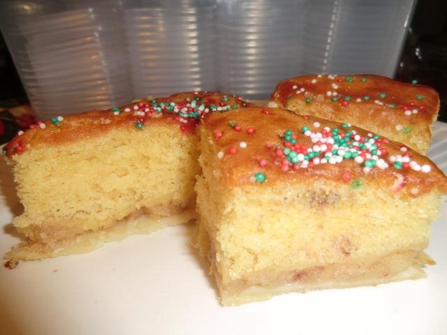 Surinam pineapple cake