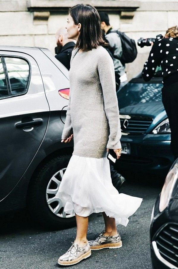 Brilliant Sweater Outfit Ideas We Found On Pinterest   WhoWhatWear UK