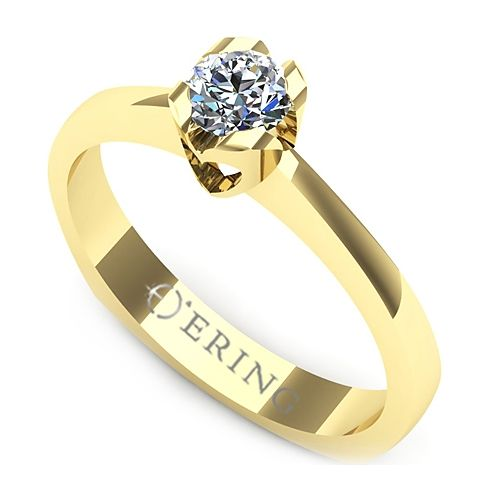 Inel logodna L06GDI Inel cu diamant