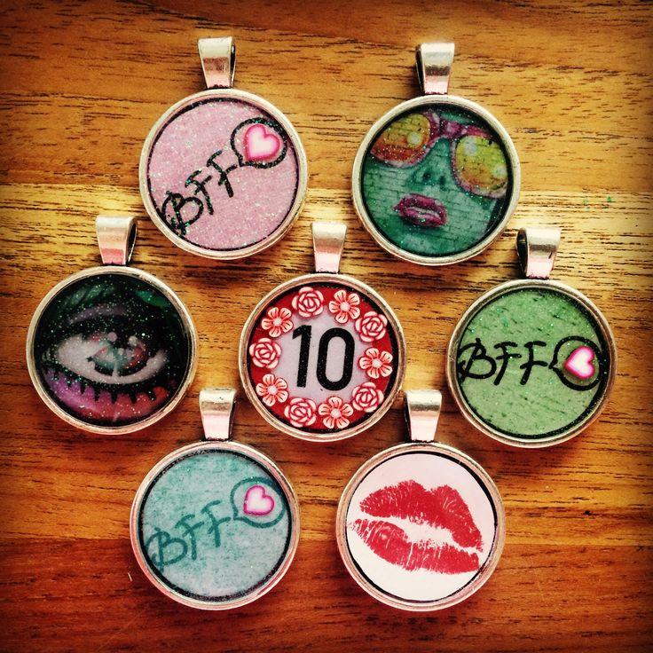 Poxierocks resin BFF Kiss 10 eye graffiti