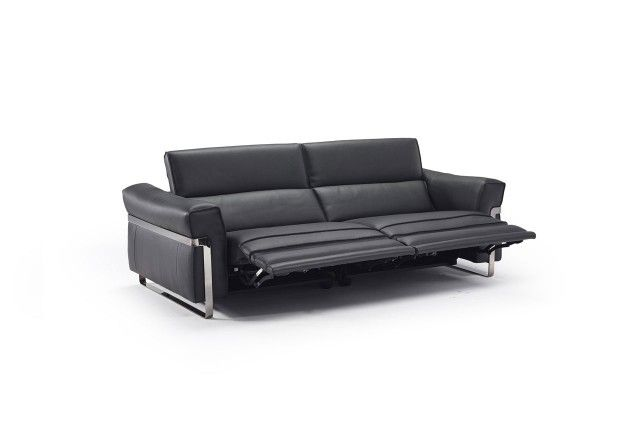 Reclining sofa fidelio italian modern furniture from for Apartment 9 furniture