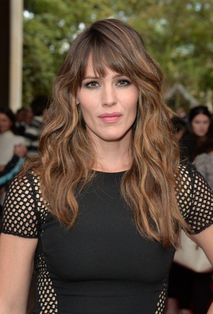 Jennifer Garner's beachy waves are giving us serious hair envy.