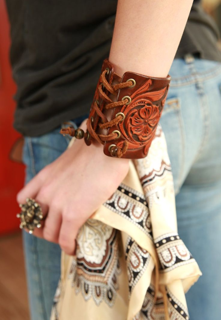cat ballou corset cuff - Junk GYpSy co.