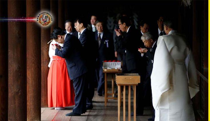 95 legisladores visitam o Santuário de Yasukuni