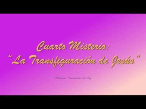 MISTERIOS LUMINOSOS DEL SANTO ROSARIO - Jueves -