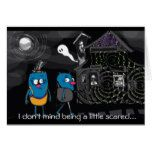 Halloween autism charity card #halloween #happyhalloween #halloweenparty #halloweenmakeup #halloweencostume