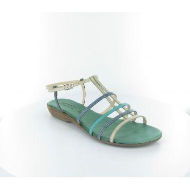 Sandalo in pelle by Fiocco #scarpe #donna #italianshoes