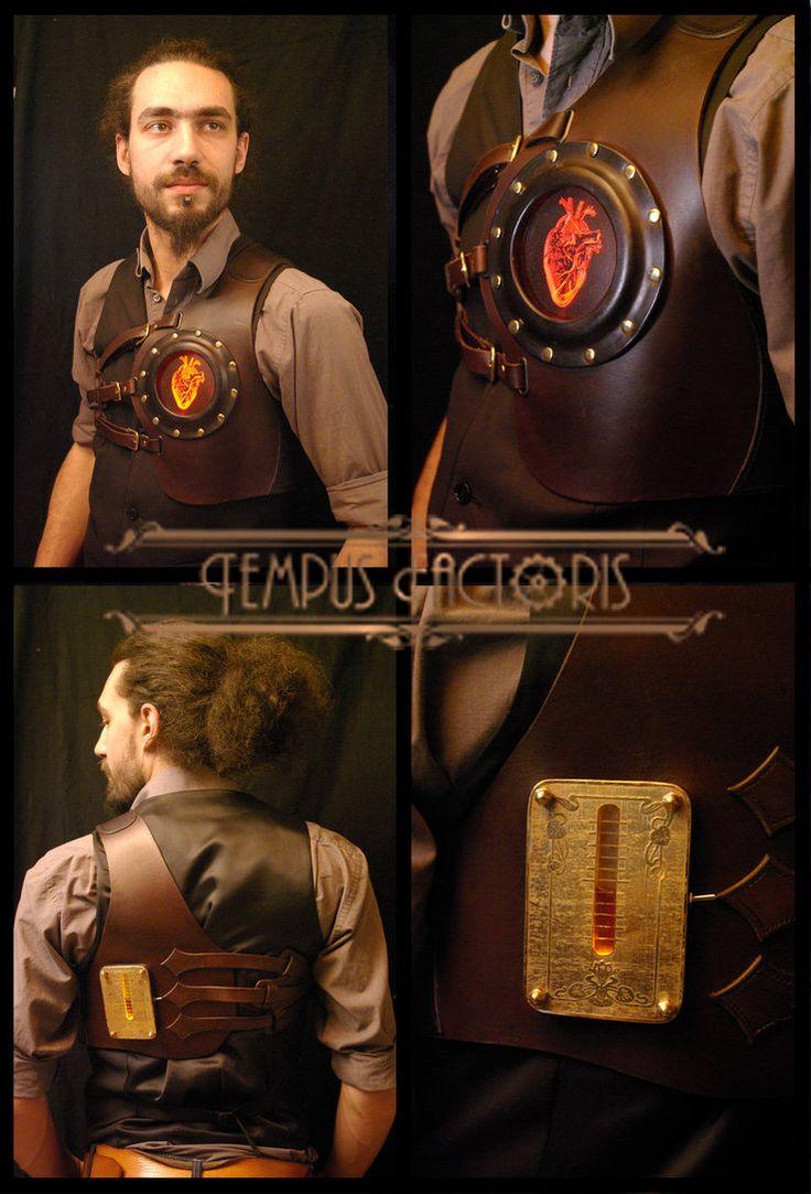 Work by Stec Olivier  - http://tempus-factoris.legtux.org/Steampunk Alice, Heart Steampunk, Steampunk Style, Steampunk Heart, Steampunk Men, Steam Punk, Steampunk Ideas, Steampunk Design, Steampunk Cosplay