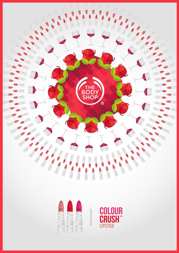 The Body Shop Campaign by Tom Anders Watkins, via Behance