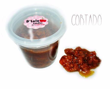 Cortado de leche con panela orgánica. Sabores: Limón, Maracuyá, Café.  Dulce colombiano conocido como Mielmesabe.