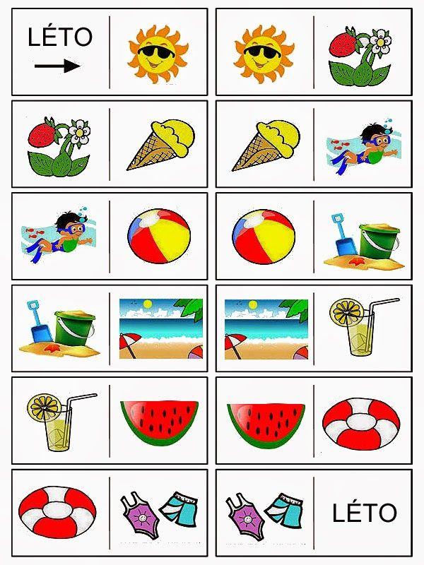 Pro Štípu: Letni domino - vesele prazdniny prejeme :-)