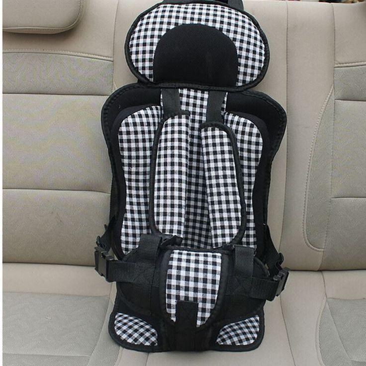 Portable child car seat,cadeirinha para carro 9 a 40 kg,free shipping child car seat, Red plaid, Black plaid,car seat booster