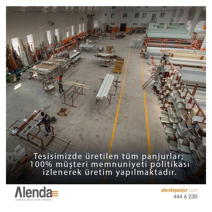 Tesisimizde üretilen tüm panjurlar; yüksek kaliteli hammadde, uzman üretim kadrosunun denetiminde titizlikle ve 100% müşteri memnuniyeti politikası izlenerek üretim yapılmaktadır.