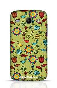 Floral Pattern Samsung Galaxy Core i8262 Phone Case