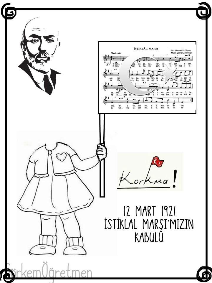 Gorkemogretmen Adli Kullanicinin 12 Mart 1921 Istiklal Marsi Mizin
