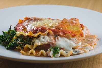 Kale Lasagna | Recipes to Try | Pinterest