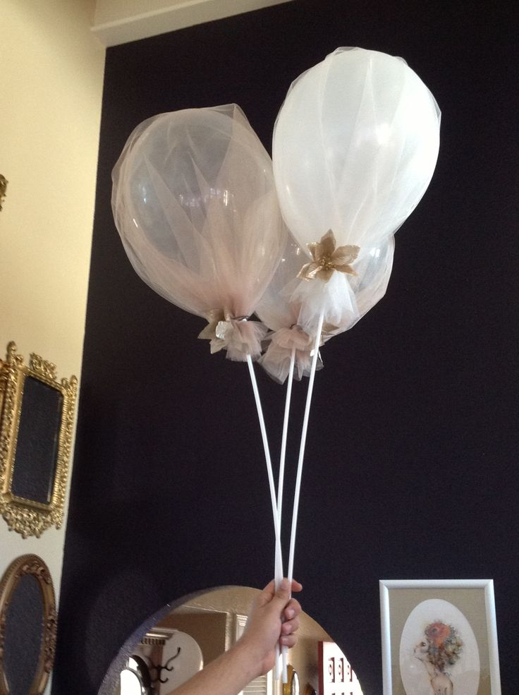 Images about tulle balloons on pinterest