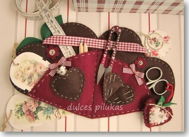 Como comenté ayer cuando os enseñé el taller  Kit Costura ,  hoy os traigo el segundo taller   de la Colección Corazón de Manzana   se ...
