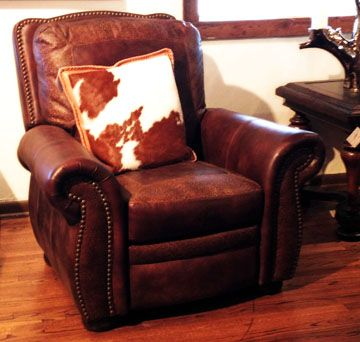 20 Best Leather Chairs And Ottomans Images On Pinterest