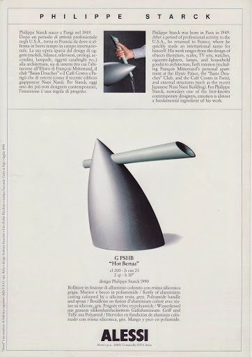 philippe starck hot bertaa kettle for alessi
