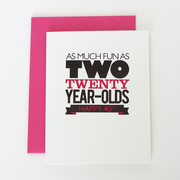 Details: Black & Hot Pink Foil on white cardstock with a pink envelope A2…