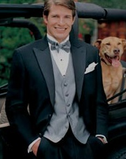 Tuxedos and tuxedo sales, rentals for your wedding, friends weddings or prom. If you need formal wear for a bar mitzvah, special occasions or black tie event we have euro sytle tuxedos and trousers with or without suspenders. Email us for a free catalog and see our collection. We carry items from stove pipe hats to top hats, wide leg or tapered trousers. www.1800mytuxes.com/