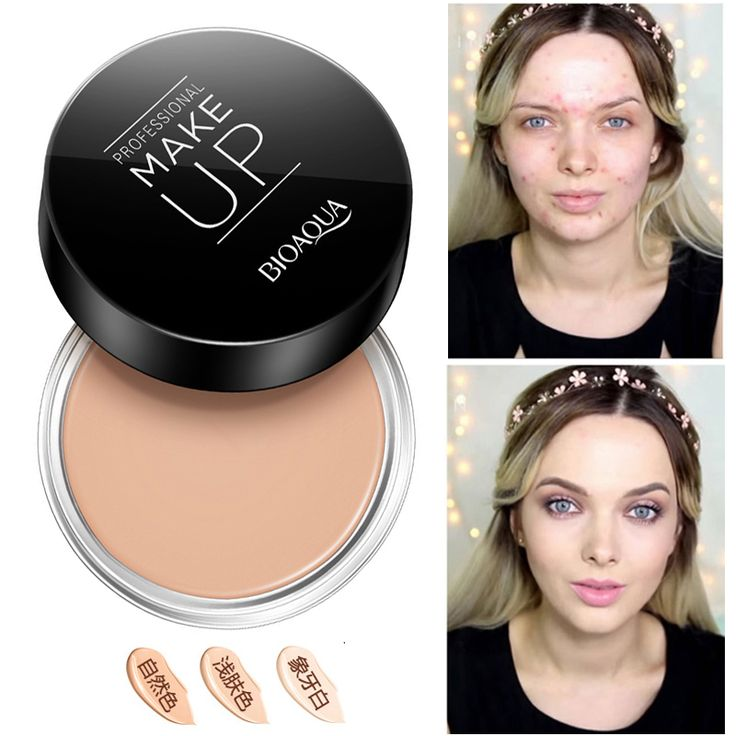 Professional Dark Skin Foundation Face Full Cover Cream Cheap Makeup Palette Face Corrector