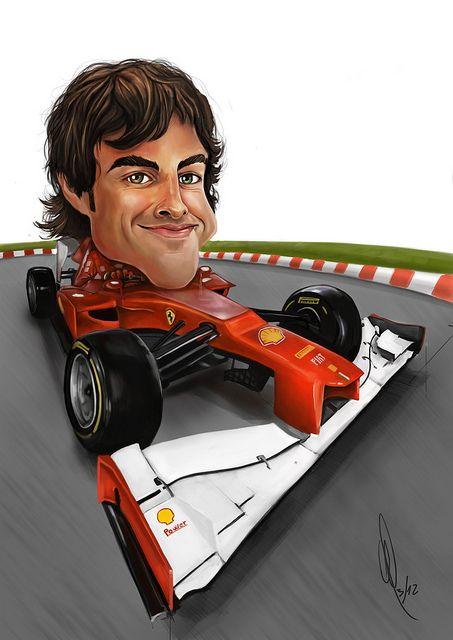 Fernando Alonso by Carlos Castro Pérez, via Flickr