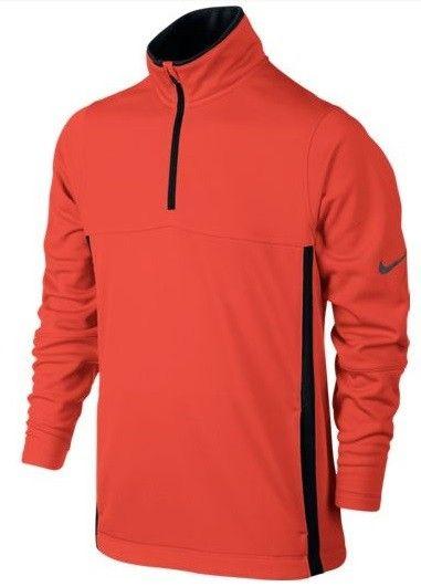 Jersey Nike Golf Boys Thermal para niños. Jersey Nike Golf para niños, con cuello alto y cremallera. Fabricado con 100% Polyester.