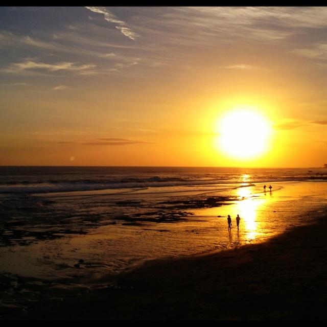 Sunset on Echo Beach