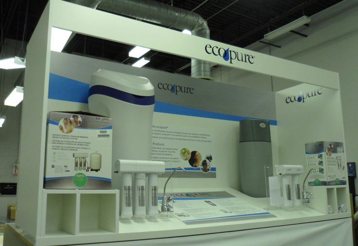 EcoPure Water Display: Design - Print - Manufacture
