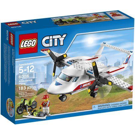 LEGO City Great Vehicles Ambulance Plane, 60116 - Walmart.com