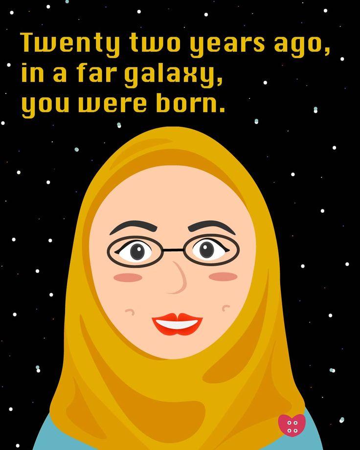 A star wars themed birthday card
