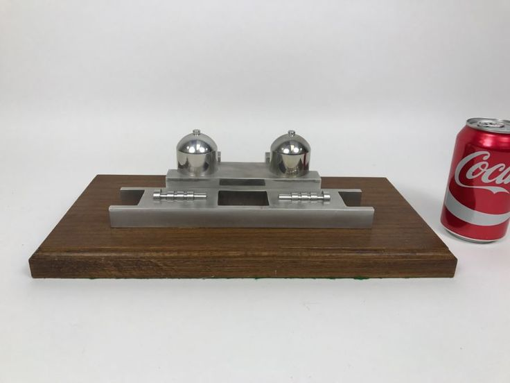 Cool Factor High - Machined Steel Replica Of San Onofre Nuclear Power Plant - The Plant Is Now Retired