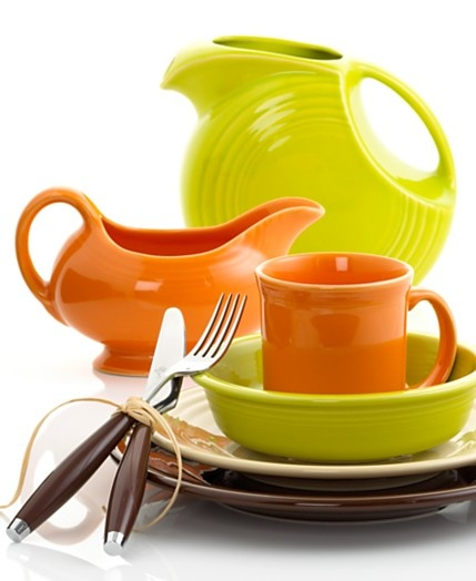 have to design my future kitchen around my dishes... #Fiesta in tangerine, lemongrass, cobalt and peacock: Dinnerware Party, Colors Combos, Fiestas Dinnerware, Homer Laughlin, Heart Fiestas, Fiestas Dishes, Fiestas Ware, Colors Fiestawar, Products
